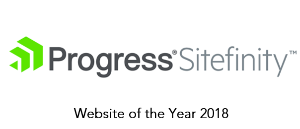 Progress Sitefinity Website of the Year