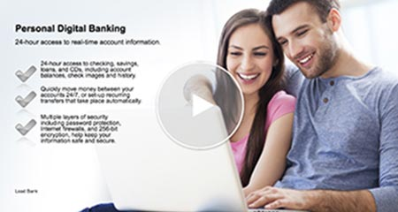 An image of the Lead Bank Community Bank's personal online banking video